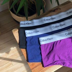 CALVIN KLEIN - Modern Cotton Boy Shorts Underwear